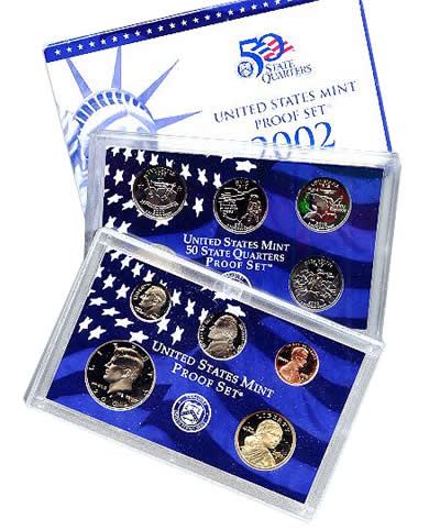 2002 US Mint Proof Set - Click Image to Close