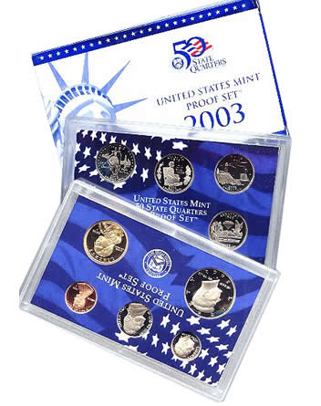 2003 US Mint Proof Set - Click Image to Close