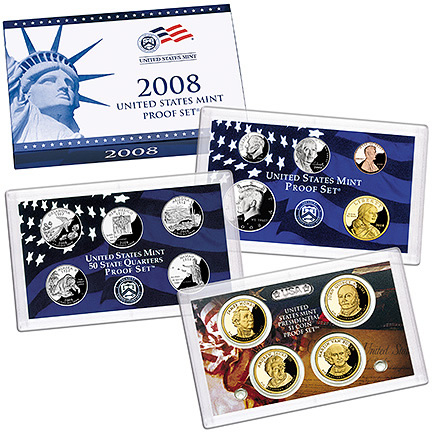 2008 US Mint Proof Set - Click Image to Close
