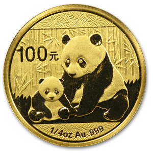 2012 1/4 Ounce Chinese Gold Panda Coin Sealed - Click Image to Close