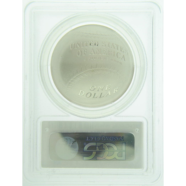 2014 P $1 Baseball Hall Of Fame Silver Proof PCGS PR70DCAM FS - Click Image to Close