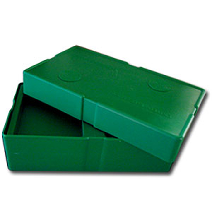 Lovely Empty Green Monster Box For Silver Eagle Coin Storage
