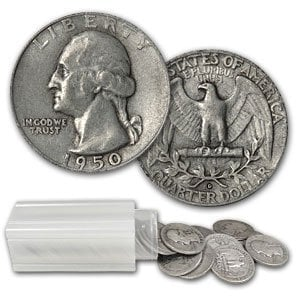 MAKE OFFER 1 Standard Ounces 90/% Silver Mercury Dimes /& Washington Quarters