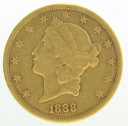 1888 S 20 Gold Double Eagle Liberty Coin De 20 Gold