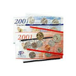 2001 Uncirculated US Mint Coin Set