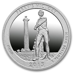 2013 5 Oz Silver Atb Perry S Victory And Peace Park Ohio