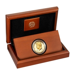 2014-W 3/4 oz Gold Kennedy Half Dollar Proof (w/Box & COA)